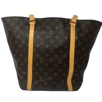 Louis Vuitton Monogram Canvas Shoulder Bag Brown M51108 3020