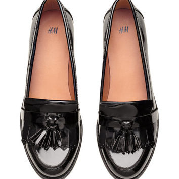 Patent Loafers - from H&M