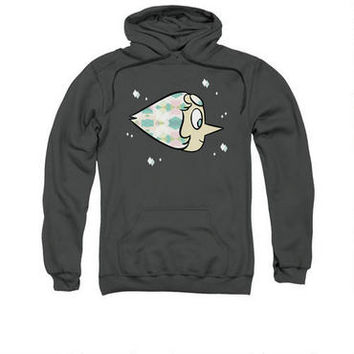Steven Universe Pearl Adult Charcoal Hoodie | CartoonNetworkShop.com