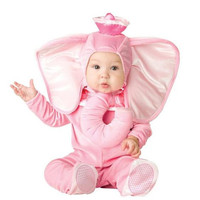 Baby Pink Cute Elephant Costume