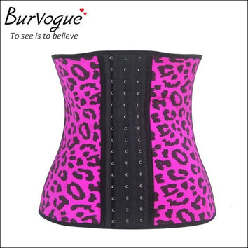 Women Corselet Waist Training Corsets Print Underbust Waist Trainer Steel Bone Slimming Body Shaper = 1715661444