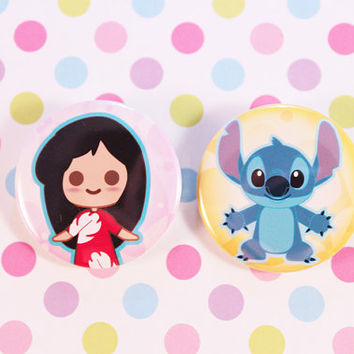 Lilo and Stitch Pins
