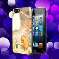 Winnie The Pooh Case For iPhone 5, 5S, 5C, 4, 4S and Samsung Galaxy S3, S4