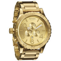 Nixon The 51-30 Chrono Watch All Gold One Size For Men 21884562101