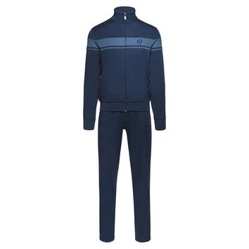 Navy Stripe Tracksuit by Sergio Tacchini