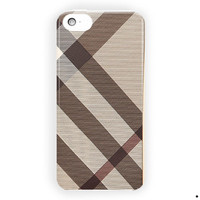 Burberry Smoked Check Continental For iPhone 5 / 5S / 5C Case