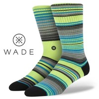 Stance | Fuego Lime, Yellow, Green, Grey socks | Buy at the Official website Main Website.