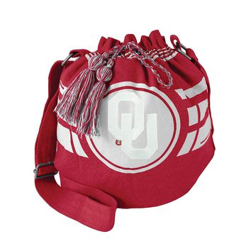 Oklahoma Sooners FANtastic Drawstring Bucket Bag