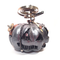 Steampunk Halloween Pumpkin - Steampumpkin