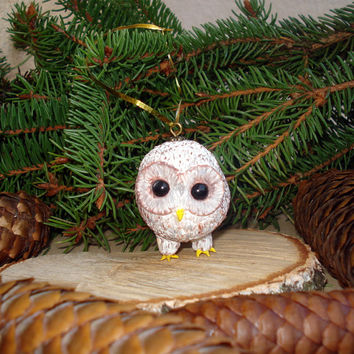 christmas ornament owl bird ornament christmas tree ornament - Bird Ornaments For Christmas Tree