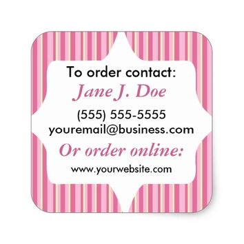 Sales Brochure Labels for Avon and More