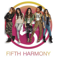 Fifth Harmony in front of cut out Women's T-Shirt