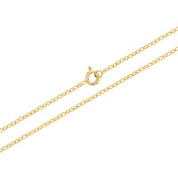 18k Gold Plated Link Chain Necklace Unisex Girl Boy 16""