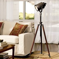 Photographer's Tripod Floor Lamp