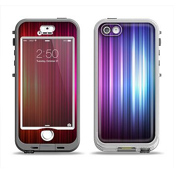 The Straigth Vector HD Lines Apple iPhone 5-5s LifeProof Nuud Case Skin Set