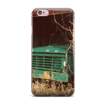 "Angie Turner ""Ford"" Teal Car iPhone Case"