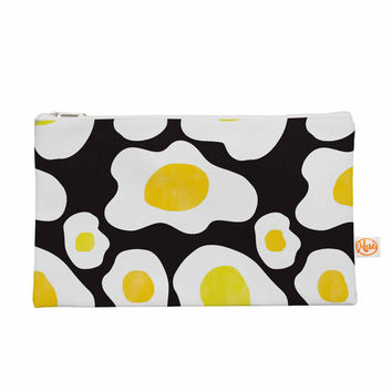 "Vasare Nar ""Fried Eggs Pattern"" Yellow Pop Art Everything Bag"