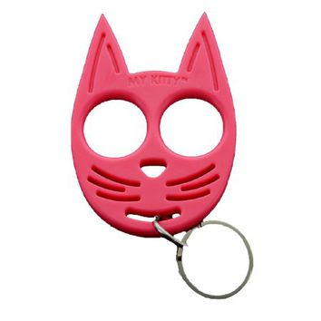 My Kitty Self Defense Personal Keychain Choice of colors (Lime Green) - Walmart.com