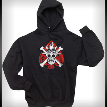 Portgas D. Ace One piece Unisex Pullover Hoodie