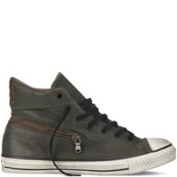 Converse Converse By John Varvatos Back Zip Leather Forest Night Hi Top