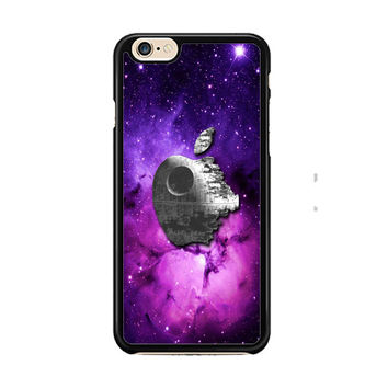 Star Wars Inspired Death Star Apple in Galaxy IPhone 6 Case