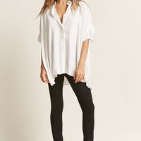 Drapey High-Low Shirt