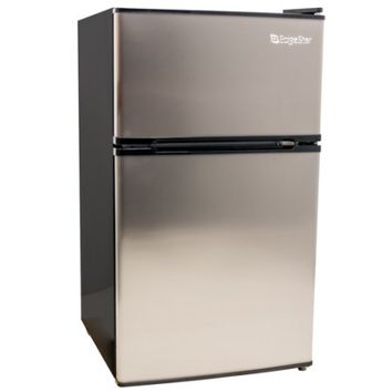 EdgeStar CRF321 19 Inch Wide 3.1 Cu. Ft. Energy Star Rated Fridge/Freezer with Interior Lighting - Walmart.com