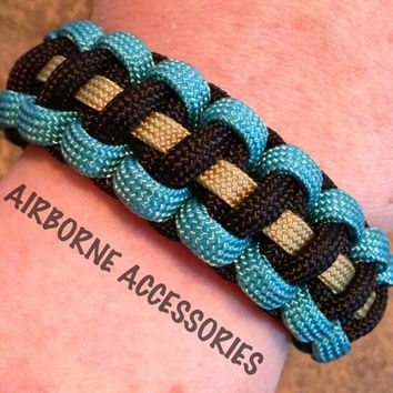 "RAVENCLAW -  550 Paracord bracelet - 6""-10"" - please READ ENTIRE listing to ensure you are ordering the correct size"