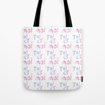 Toi et moi – Marriage, love, romantism,romantic,cute,beauty, tender, tenderness Tote Bag by oldking