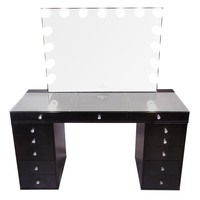 SlayStation Pro 2.0 + Glow Pro Vanity Bundle with Drawer Units - Impressions Vanity Co.