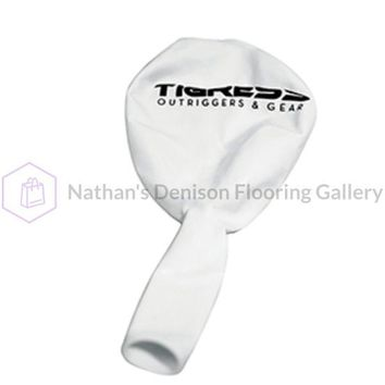 Tigress White Helium Ballons