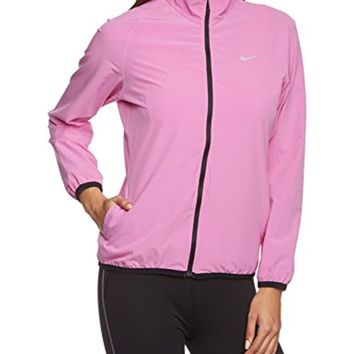 NIKE Women's Woven Full Zip Jacket