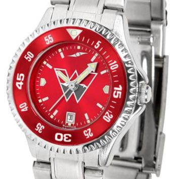 Western State Colorado University Mountaineers Competitor Ladies' Steel AnoChrom Watch