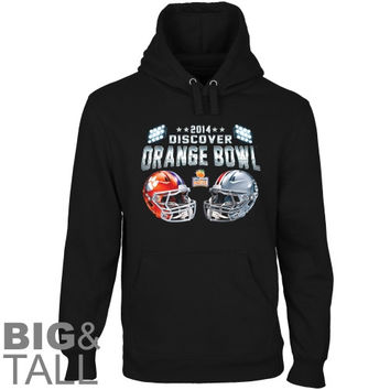 Clemson Tigers vs. Ohio State Buckeyes 2014 Orange Bowl Game Showtime Dueling Big & Tall Pullover Hoodie - Black