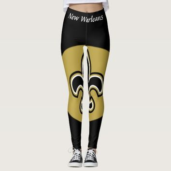 New Warleans Saints Leggings