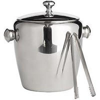 Pier 1 Imports - Product Details - Stainless Steel Ice Bucket with Tongs