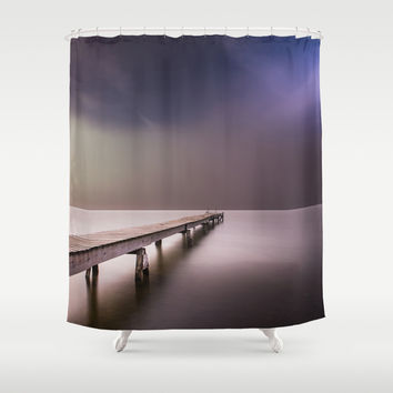 Nebel III (in color) Shower Curtain by HappyMelvin