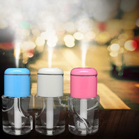 Water Bottle Car Aroma Diffuser Steam Air Humidifier Aromatherapy