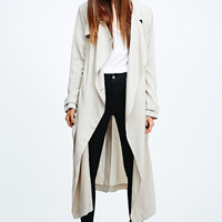 Silence + Noise Drapey Trench Coat - Urban Outfitters