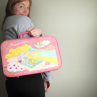 Vintage Care Bears 90s Suitcase