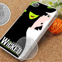 A New Musical Wicked - iPhone 4/4s/5/5S/5C Case - Samsung Galaxy S2/S3/S4 Case - Black or White
