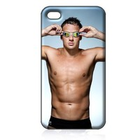 Ryan Lochte Hard Case Skin for Iphone 4 4s Iphone4 At&t Sprint Verizon Retail Packing.