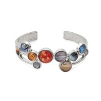 Solar System Bubble Cuff Bracelet | space jewelry, planets