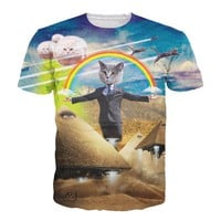 Rainbow Cat T Shirt