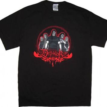 Metalocalypse Dethklok Metal Band Concert Tour T-shirt - Metalocalypse - | TV Store Online