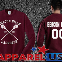 Beacon Hills 00 ,Danny Mahealani 06 ,Isaac Lahey 14 ,Jackson Whittemore  swearshirt unisex adults on size S-3XL.