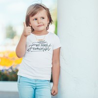 Little But Fierce Feminist Toddler Softstyle T-Shirt
