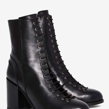 Gully Lace-Up Leather Boot