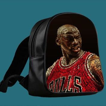 michael jordan for Backpack / Custom Bag / School Bag / Children Bag / Custom School B