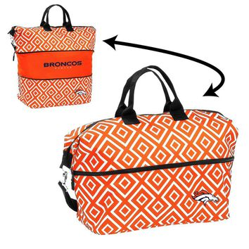 Denver Broncos NFL Expandable Tote Bag